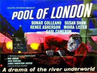 Pool of London (film) - Original British quad format film poster