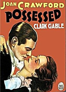 <i>Possessed</i> (1931 film) 1931 film by Clarence Brown