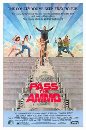 Pass the Ammo - Theatrical release poster by Tom Jung