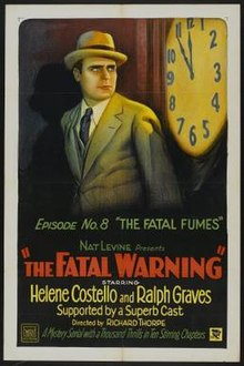 Poster of the movie The Fatal Warning.jpg