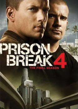 Prison break season four dvd cover