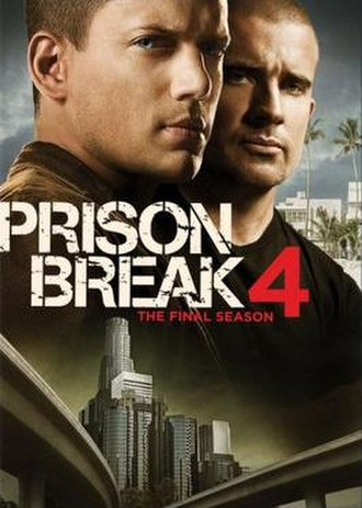 Prison Break (season 4) - DVD cover