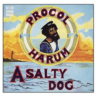 A Salty Dog - Image: Procol Harum A Salty Dog (album cover)
