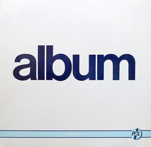 Album (Public Image Ltd album) - Image: Public image ltd album cover