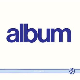 Album (Public Image Ltd album) - Image: Public image ltd album cover