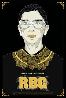<i>RBG</i> (film) 2018 film by Julie Cohen, Betsy West