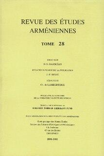 <i>Revue des Études Arméniennes</i> Academic journal