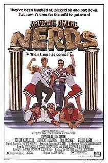 <i>Revenge of the Nerds</i> 1984 film directed by Jeff Kanew