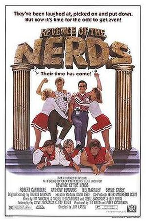 Revenge of the Nerds - Theatrical release poster