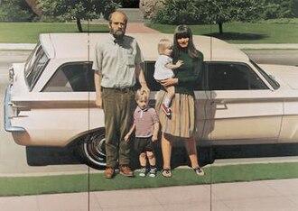 Robert Bechtle - Robert Bechtle, '61 Pontiac, 1968–69. Oil on canvas, 59 3/4 × 84 1/4 in. (151.8 × 214 cm). Whitney Museum of American Art, New York;  © 1969 Robert Bechtle