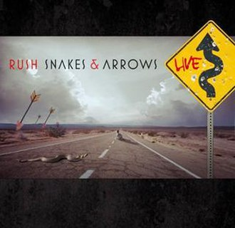 Snakes & Arrows Live - Image: Rush Snakes & Arrows Live