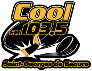 Saint-Georges Cool FM 103.5 - Image: Saint Georges de Beauce Cool FM 103.5 logo