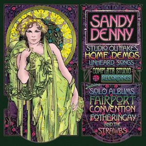 Sandy Denny (box set) - Image: Sandy Denny Boxset cover sm