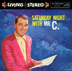 Saturday Night with Mr. C - Image: Saturdaywithmrc