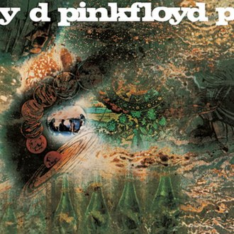 Pink Floyd - The psychedelic artwork for A Saucerful of Secrets was the first of many Pink Floyd covers designed by Hipgnosis
