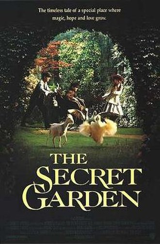 The Secret Garden (1993 film) - Theatrical release poster