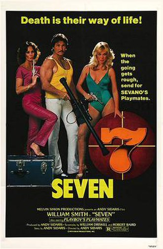 Seven (1979 film) - Theatrical release poster