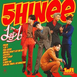 1 of 1 (album) - Image: Shinee 1of 1