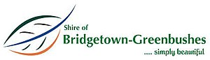 Shire of Bridgetown-Greenbushes - Image: Shire of Bridgetown Greenbushes Logo