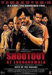 <i>Shootout at Lokhandwala</i> 2007 film by Apoorva Lakhia
