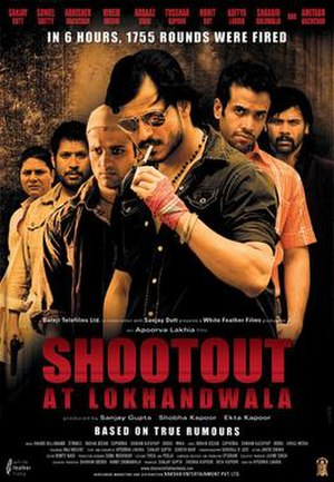 Shootout at Lokhandwala - Theatrical release poster