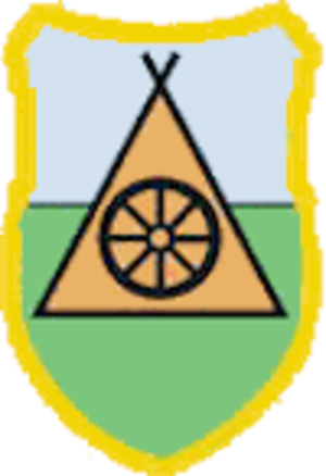 Slovenský skauting - Roma Scout badge