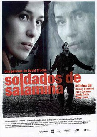 Soldiers of Salamina (film) - Theatrical release poster