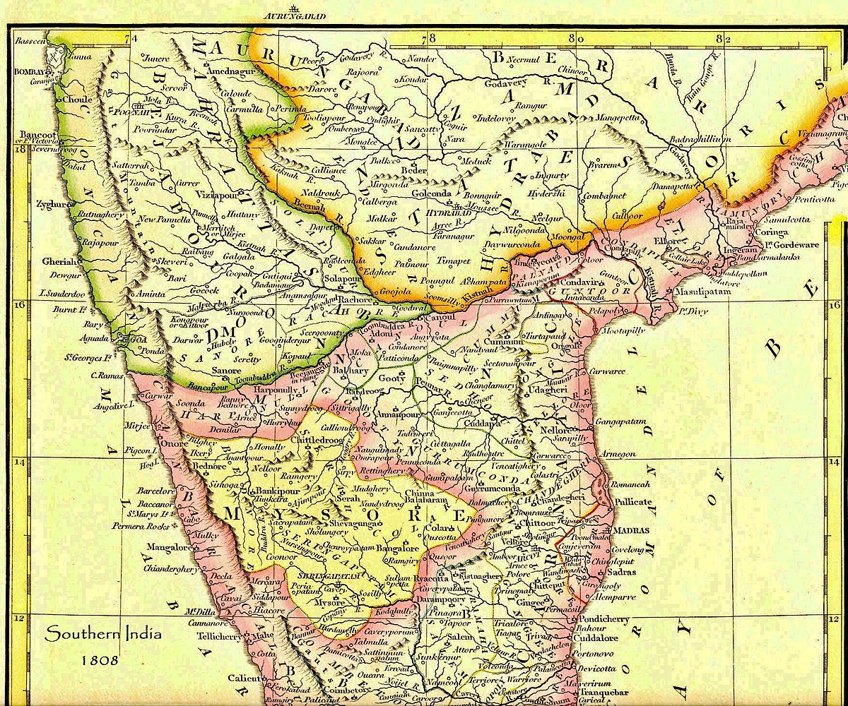 Political history of Mysore and Coorg 1800 1947 Wikipedia