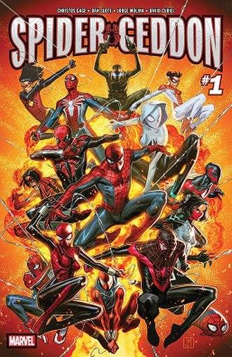 Spider-Geddon - Image: Spider Geddon 1 (Oct. 2018)