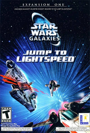 Star Wars Galaxies: Jump to Lightspeed - Image: Star Wars Galaxies Jump to Lightspeed Coverart