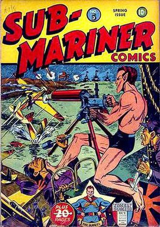 George Klein (comics) - Image: Sub Mariner Comics 5
