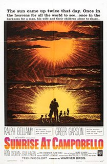 <i>Sunrise at Campobello</i> 1960 film by Vincent J. Donehue