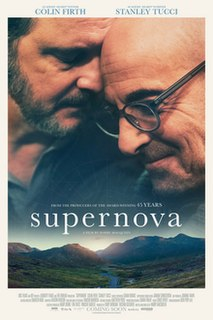 <i>Supernova</i> (2020 film) 2020 British drama film