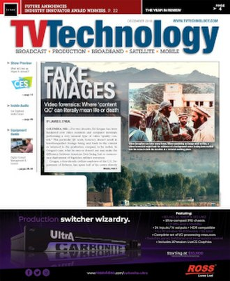 TV Technology - Image: TVT Cover