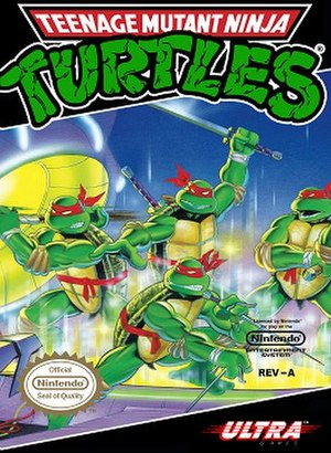 Teenage Mutant Ninja Turtles (NES video game) - Image: Teenage Mutant Ninja Turtles (1989 video game)