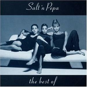 The Best of Salt-N-Pepa - Image: The Best of Salt N Pepa album cover