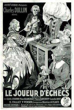 The Chess Player - French language poster