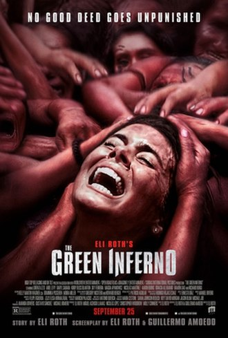 The Green Inferno (film) - Theatrical release poster
