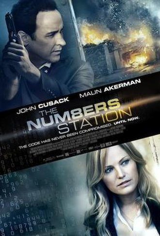 The Numbers Station - Pre-release cinema poster