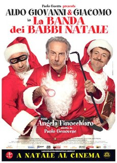 <i>The Santa Claus Gang</i> 2010 film by Paolo Genovese