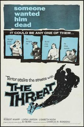 The Threat (1960 film) - Theatrical release poster