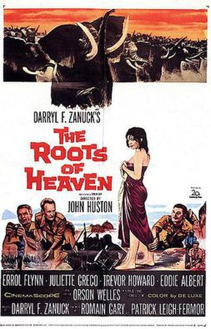 The Roots of Heaven (film) - Original film poster