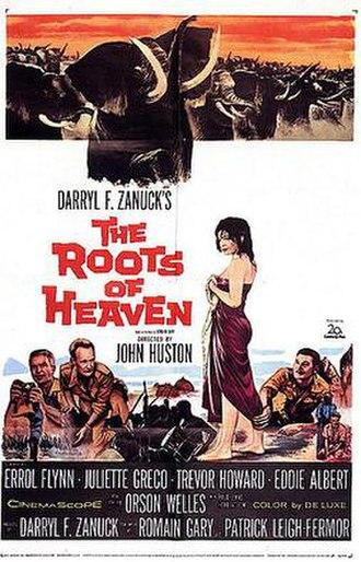 The Roots of Heaven (film) - Original film poster