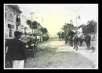 Itaqui -  Theater Prezewodowski, prefecture and cavalry - 1930