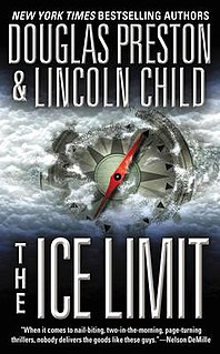 <i>The Ice Limit</i> novel by Lincoln Child