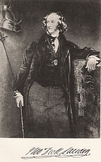 Thomas Dick Lauder - Sir Thomas Dick Lauder, after Robert Scott Lauder