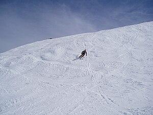 Thredbo, New South Wales - Skiing at Merrits