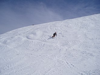 Skiing at Merrits Thredbo skiing.JPG