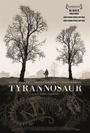 Tyrannosaur (film) - Tyrannosaur original poster by Dan McCarthy