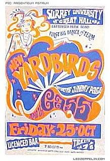Led Zeppelin United Kingdom Tour 1968